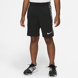 Nike Dri-FIT Trophy Shorts de entrenamiento estampados para niños talla grande
