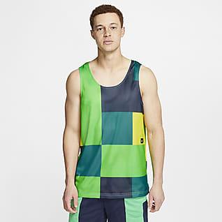 Nike Camiseta de tirantes de entrenamiento reversible para hombre