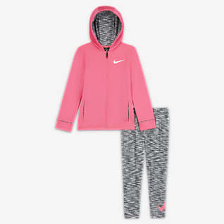 Nike Therma Little Kids' Jacket and Leggings Set
