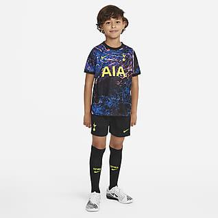 Tottenham Hotspur 2021/22 de visitante Kit de fútbol para niños talla pequeña