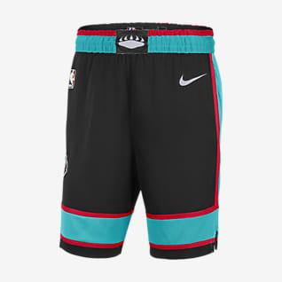 Memphis Grizzlies Classic Edition 2020 Shorts Nike NBA Swingman para hombre