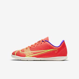 Nike Mercurial Vapor 14 Club IC Fußballschuh für Hallen- und Hartplätze für jüngere/ältere Kinder