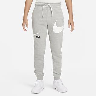 Nike Sportswear Swoosh Genç Çocuk (Erkek) Yünlü Eşofman Altı