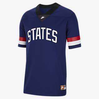 U.S. Camiseta de fútbol americano para hombre