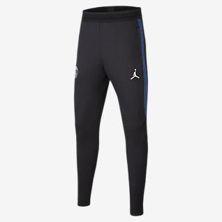 Jordan x Paris Saint-Germain Strike Fotbalové kalhoty pro větší děti