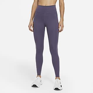 Nike One Luxe Leggings mit mittelhohem Bund für Damen