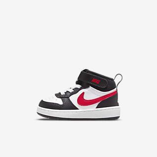 Nike Court Borough Mid 2 Kleinkinderschuh
