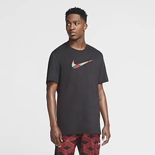 Nike Team Kenya Dri-FIT เสื้อยืดวิ่ง