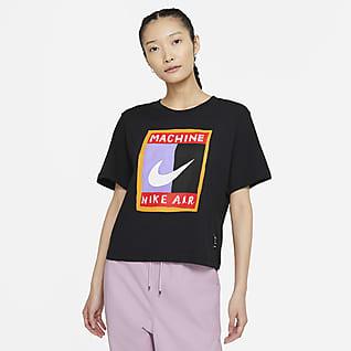 Nike Sportswear เสื้อยืดผู้หญิงทรงหลวม