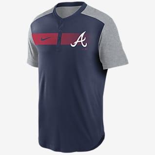 Nike Dri-FIT Fade (MLB Atlanta Braves) Men's Henley