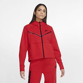 Nike Sportswear Tech Fleece Windrunner Damen-Hoodie mit durchgehendem Reißverschluss