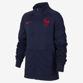 France Older Kids' Football Jacket
