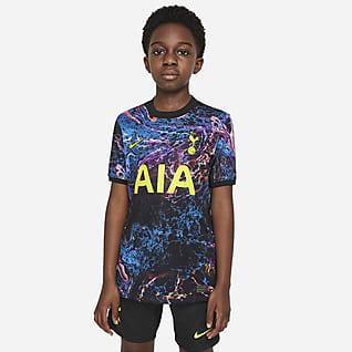 visitante Stadium Tottenham Hotspur 2021/22 Camiseta de fútbol para niños talla grande