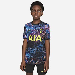 Tottenham Hotspur 2021/22 Stadium Away Older Kids' Football Shirt