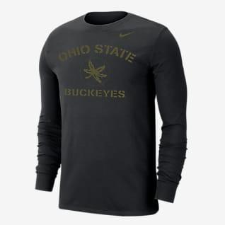 Nike College Dri-FIT (Ohio State) Men's Long-Sleeve T-Shirt