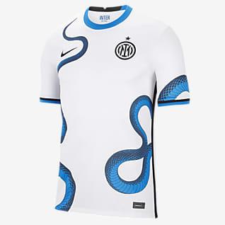 Inter Milan 2021/22 Stadyum Deplasman Nike Dri-FIT Erkek Futbol Forması