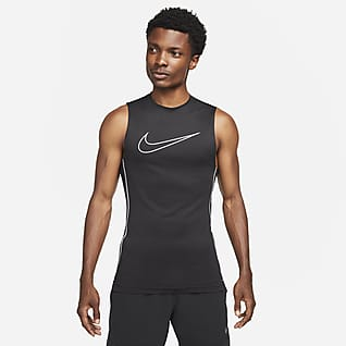 Nike Pro Dri-FIT Ärmlös tröja med tajt passform för män