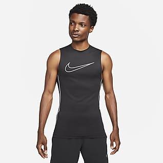 Nike Pro Dri-FIT Męska koszulka bez rękawów o przylegającym kroju