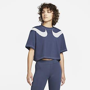 Nike Sportswear Swoosh เสื้อยืดผู้หญิง