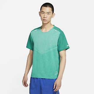 Nike TechKnit Ultra Run Division 男子短袖跑步上衣