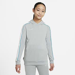 Nike Dri-FIT Academy Bluza piłkarska z kapturem dla dużych dzieci