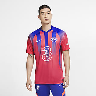 Chelsea FC 2020/21 Stadium alternativa Camiseta de fútbol para hombre