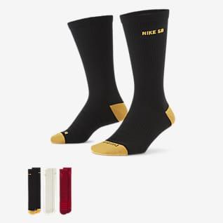 Nike SB Everyday Max Lightweight Skateboard-Crew-Socken (3 Paar)
