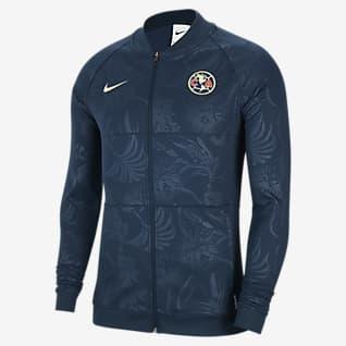 Club América Men's Full-Zip Soccer Track Jacket