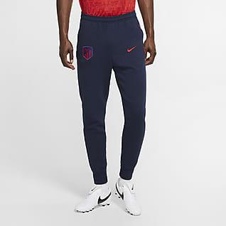 Atlético de Madrid Pantalones de fútbol de tejido Fleece para hombre