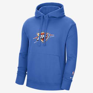 Oklahoma City Thunder Essential Men's Nike NBA Fleece Pullover Hoodie
