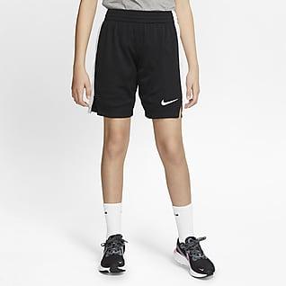 Nike Shorts de entrenamiento para niña talla grande