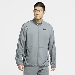 Nike Dri-FIT Vævet træningsjakke til mænd