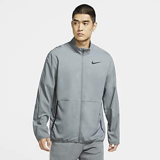 Nike Dri-FIT Träningsjacka i vävt tyg för män