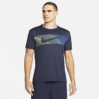 Nike Dri-FIT Superset Prenda para la parte superior de entrenamiento con gráfico de manga corta para hombre
