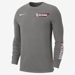Nike College Dri-FIT (Oklahoma) Men's Long-Sleeve T-Shirt