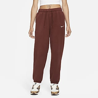 Nike Sportswear Essentials Γυναικείο ψηλόμεσο παντελόνι φόρμας με απαλή αίσθηση