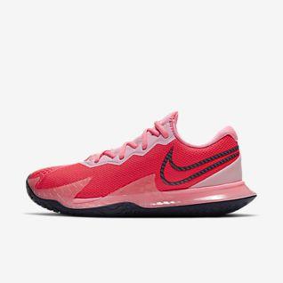 Dame Hardt underlag Tennis Sko. Nike NO