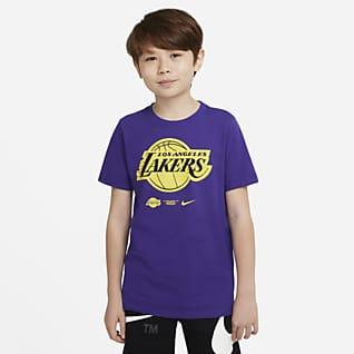 Los Angeles Lakers Older Kids' Nike Dri-FIT NBA T-Shirt
