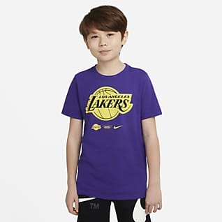 Los Angeles Lakers Tee-shirt Nike Dri-FIT NBA pour Enfant plus âgé