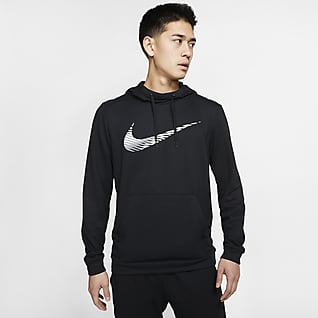 Nike Dri-FIT Sudadera con capucha de entrenamiento sin cierre para hombre