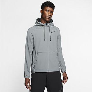 Nike Flex Herren-Trainingsjacke mit durchgehendem Reißverschluss