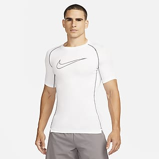Nike Pro Dri-FIT Haut à manches courtes et coupe ajustée pour Homme