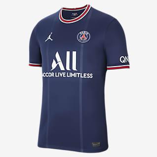 Paris Saint-Germain 2021/22 Stadium Home เสื้อแข่งฟุตบอลผู้ชาย