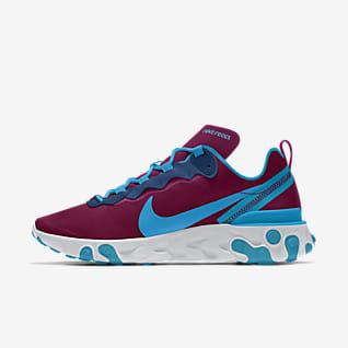 Nike React Element 55 By You รองเท้าตามไลฟ์สไตล์ผู้ชายออกแบบเอง