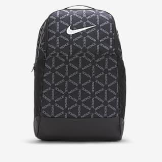Nike Brasilia เป้สะพายหลังเทรนนิ่งพิมพ์ลาย (ขนาดกลาง)