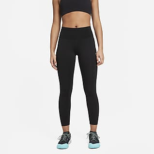 Nike Epic Luxe Középmagas derekú női futóleggings terepre