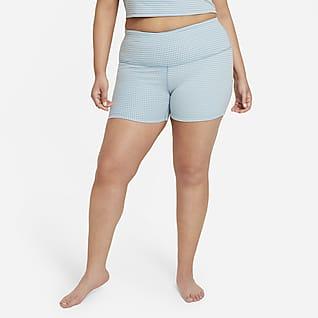 Nike Yoga Women's Gingham Shorts (Plus Size)
