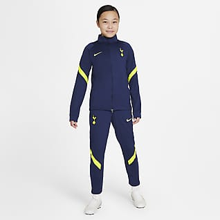 Tottenham Hotspur Strike Dres piłkarski dla dużych dzieci Nike Dri-FIT