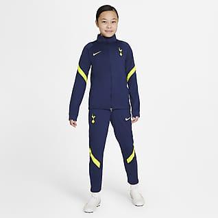 Tottenham Hotspur Strike Fotbalová sportovní souprava Nike Dri-FIT pro větší děti