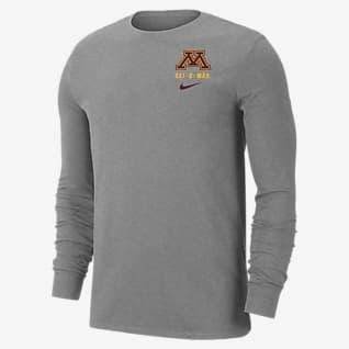Nike College Dri-FIT (Minnesota) Men's Long-Sleeve T-Shirt